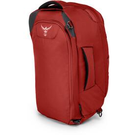 Osprey Farpoint 40 Backpack Gr. S/M, jasper red